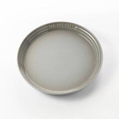 【ル・クルーゼ】LECREUSETネオ・ラウンド・プレート22cmミストグレープレート食器お皿デザート皿デザートプレートブランドシンプルおしゃれパーティー