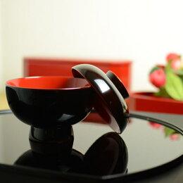 雑煮椀 溜内朱 越前漆器高級椀 木製 テーブルコーディネートに大活躍するテーブルウェア・おもてなしアイテム 日本製  贈答品 高級