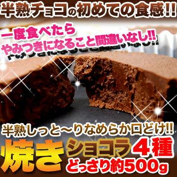 焼きショコラ4種どっさり約500g