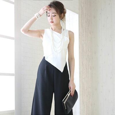 707e1c7111905 商品名 大人キレイ切り替えパンツドレス サイズ ※サイズにつきましては、あくまでも目安になります。