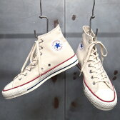 【 CONVERSE / コンバース 】 CANVAS ALL STAR J HI [NATURAL WHITE] / キャンバス オールスター J HI CHUCK TAYLOR / チャックテイラー [ナチュラルホワイト] MADE IN JAPAN / 日本製 バルカナイズド製法
