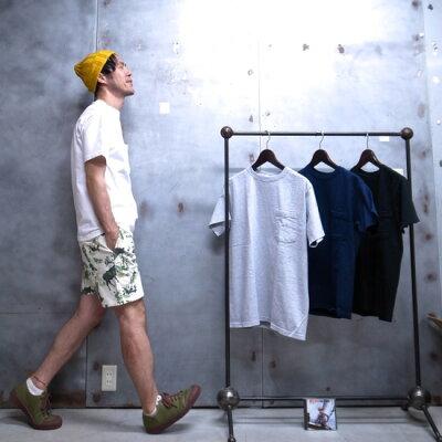 Goodwear (グッドウェア) 半袖 ポケット Tシャツ