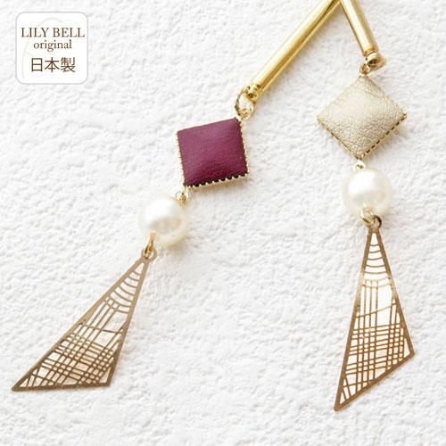 LILYBELLaccessory『三角形ゴールドスティック』