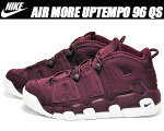"【ナイキスニーカーモアアップテンポ96】NIKEAIRMOREUPTEMPO96QS""NIGHTMAROON""nightmaroon/nightmaroon-sail"