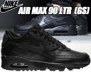 NIKE AIR MAX 90 LTR GS black/b...