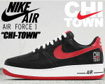 "NIKEAIRFORCE1LOWRETRO""CHITOWN""blk/v.red-wht【ナイキスニーカーエアフォース1シカゴAF1】"