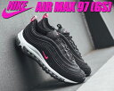 NIKE AIR MAX 97 (GS) black/pink prime-white【ナイキ エア...