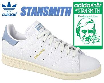 adidas STAN SMITH ftwwht/ftwwht/tacblu 【アディダス スタンスミス スニーカー ホワイト レザー レディース ウィメンズ ブルー】