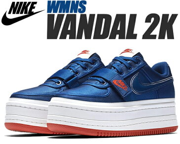 NIKE WMNS VANDAL 2K gym blue/gym blue-summit white 【ナイキ ウィメンズ バンダル 2X スニーカー レディース 厚底 チャンキースニーカー ヴァンダル ウィメンズ 2X】