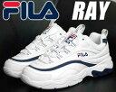 FILA RAY white-navy【フィラ レイ スニー...