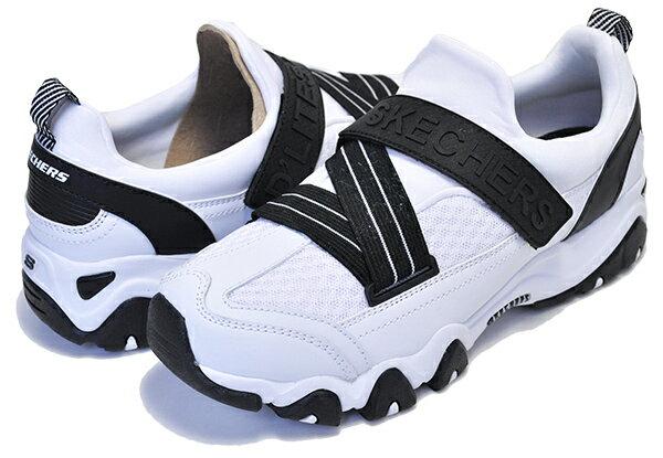 レディース靴, スニーカー  2.0SKECHERS D LITES 2.0 LIGHTLY TALK WHITEBLACK 12978 wbk