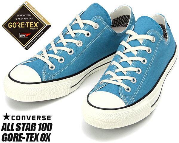メンズ靴, スニーカー CONVERSE ALL STAR 100 GORE-TEX BLUE 32169366 100