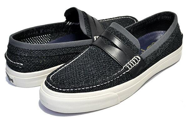 メンズ靴, ローファー COLE HAAN PINCH WKNDER LX STCHLT BLACKMAGNET
