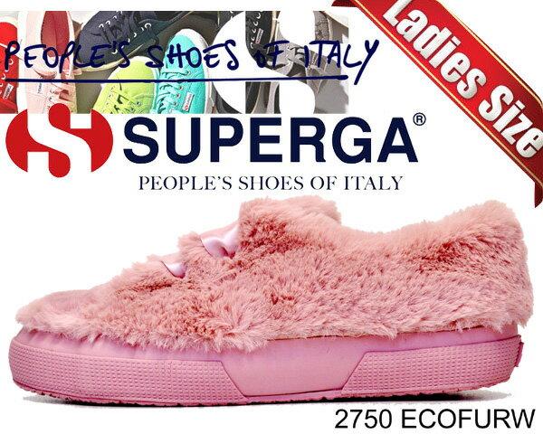 レディース靴, スニーカー  2750SUPERGA 2750 ECOFURW PINK