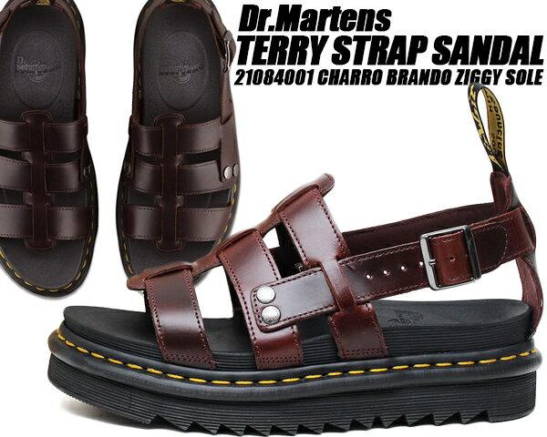 サンダル, ストラップ Dr.Martens TERRY STRAP SANDAL CHARRO BRANDO ZIGGY SOLE 23521211