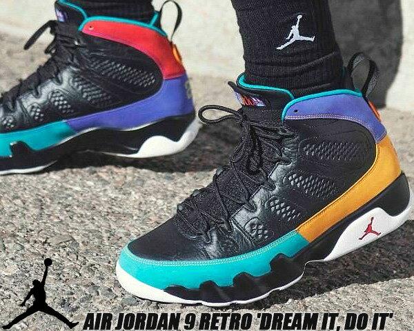 メンズ靴, スニーカー NIKE AIR JORDAN 9 RETRO Dream It Do It blackuniversity red 302370-065 9 AJ IX FLIGHT NOSTALGIA