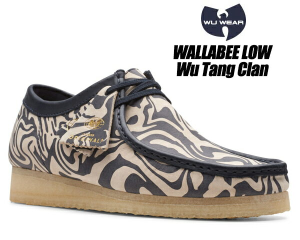 メンズ靴, その他 CLARKS WALLABEE LOW Wu Tang Clan NAVY MULTI 47057 Ice Cream Glaciers of Ice