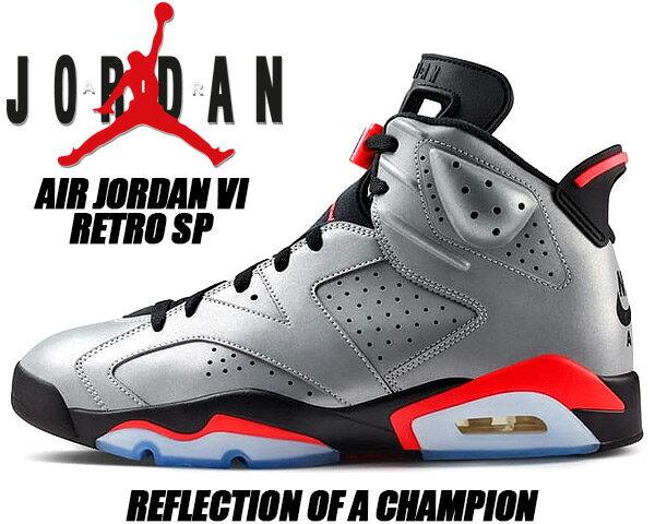 メンズ靴, スニーカー NIKE AIR JORDAN 6 RETRO SP REFLECT reflect silverinfrared-black ci4072-001 6 SP AJ VI