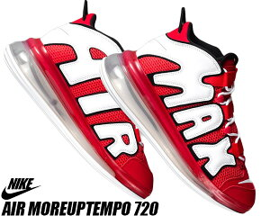 NIKE AIR MORE UPTEMPO 720 QS 2 university red/white-black cj3662-600 ナイキ エア モアアップテンポ 720 スニーカー メンズ モアテン レッド