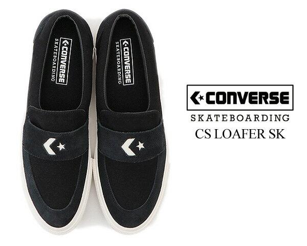 メンズ靴, スニーカー CONVERSE SKATEBOARDING CS LOAFER SK (34200210BLACK 1cl665
