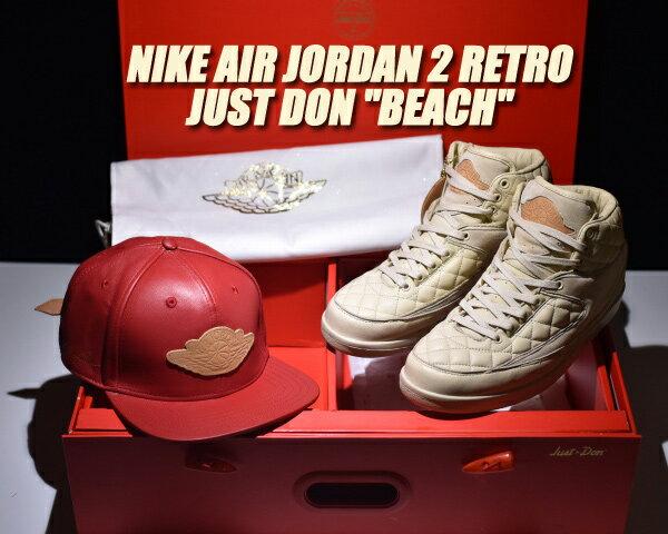 メンズ靴, スニーカー NIKE AIR JORDAN 2 RETRO JUST DON BEACH beachm.gold-u.red 834825-250 2