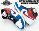 NIKE AIR JORDAN 1 MID SE white/university red-rush blue 8525