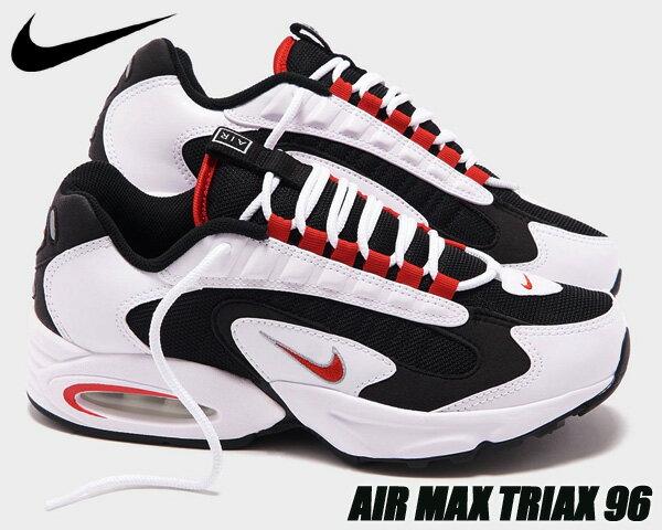 メンズ靴, スニーカー NIKE AIR MAX TRIAX whiteuniversity red-black cd2053-105 96