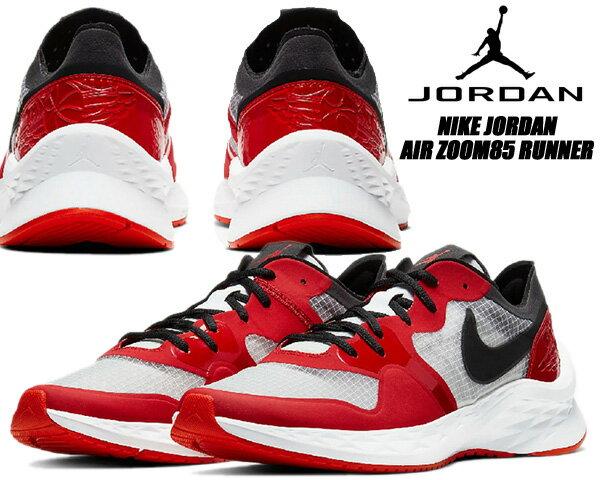 メンズ靴, スニーカー NIKE JORDAN AIR ZOOM 85 RUNNER whiteblack-university red ci0055-106 85 CHICAGO