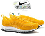 NIKE AIR MAX 97 QS amarillo/metallic gold-white ci3708-700 ナイキ エア マックス 97 オリンピック スニーカー AM97 五輪 イエロー