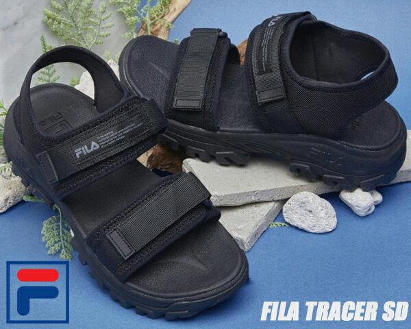 サンダル, スポーツサンダル FILA TRACER SD blackblackblack 1sm00734-001 SANDAL