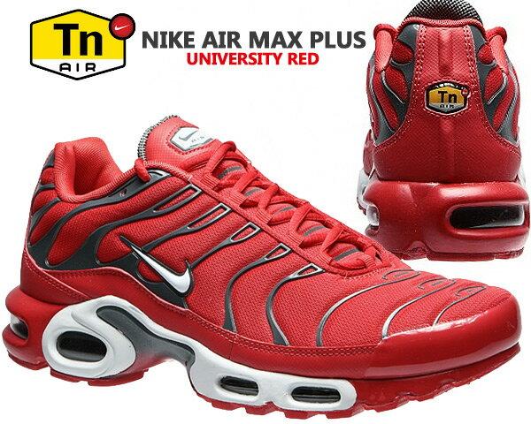 メンズ靴, スニーカー NIKE AIR MAX PLUS university redpure platinum 852630-600