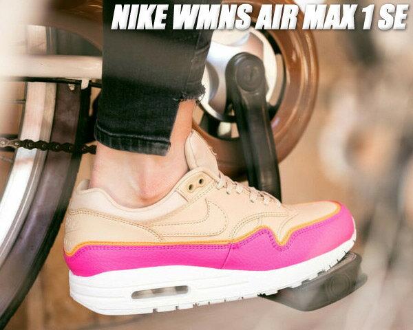 レディース靴, スニーカー NIKE WMNS AIR MAX 1 SE desert oredesert ore 881101-202 1 LINER AM1