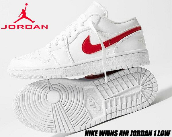 レディース靴, スニーカー NIKE WMNS AIR JORDAN 1 LOW whiteuniversity red-white ao9944-161 1 AJ1