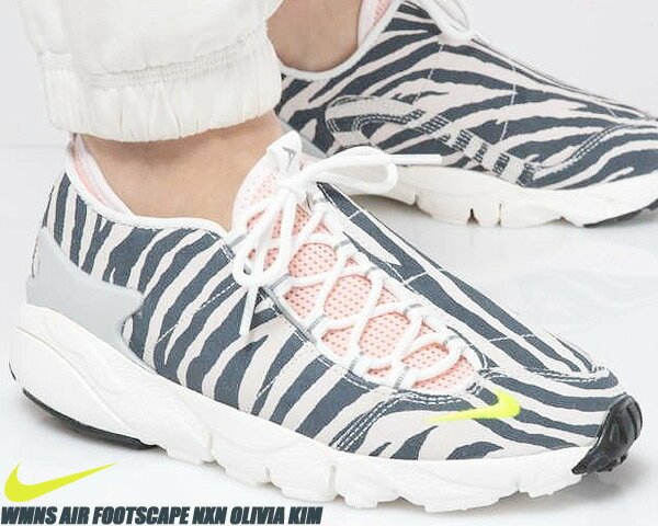 レディース靴, スニーカー NIKE WMNS AIR FOOTSCAPE NXN OLIVIA KIM summit whitevolt ck3321-100