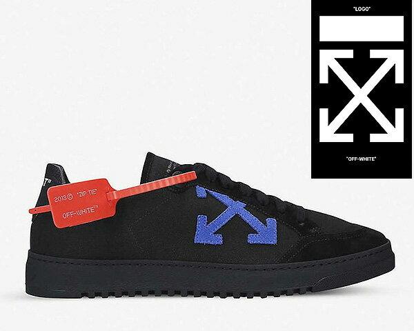 メンズ靴, スニーカー OFF-WHITE co Virgil Abloh 2.0 SNEAKER BLACK BLACK 2.0 (OMIA042E19D680481010) made in italy