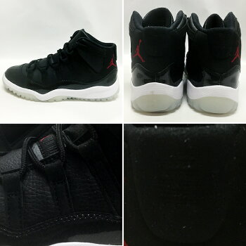 "NIKEJORDAN11RETROBP""72-10""blk/g.red-wht-anthracite【ナイキジョーダンキッズサイズ】"
