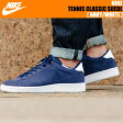 NIKE TENNIS CLASSIC SUEDE NAVY/WHITE【ナイキ スニーカー テニスクラシック スウェード あす楽対応 送料無料】