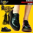 Dr.Martens WMNS 3EYE GIBSON SHOES 1461W BLACK ドクターマーチン レディース 3ホール ギブソン シューズ 1461Z 3EYE GIBSONSHOE 11837002 1461w カジュアルシューズ レザー 靴