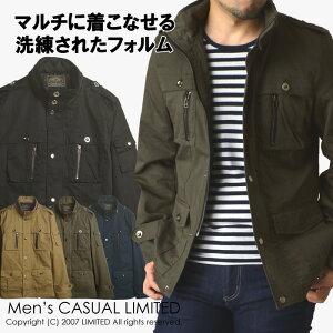 ミリタリージャケット メンズ ジャケット M65 m-65 ブルゾン ライトアウター 送料無料【R3B-0743】