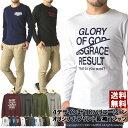 【ポイント10倍】ロンt メンズ 長袖 Tシャツ ボックス ロゴ プリ...