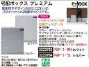 宅配ボックス プレミアム シルバー PBP-1-WH P-BOX 家庭用 収納箱 【REX2018】