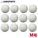 【送料無料】LINDSPORTS 練習用軟式野球ボール M号...