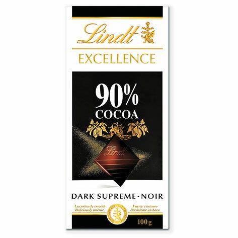 リンツLindtタブレットチョコレートエクセレンス90%カカオ  板チョコレートチョコギフトかわいいおしゃれお菓子職場リンツチョ