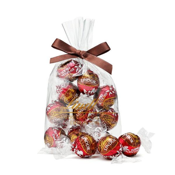 リンツLindtチョコレートリンドールダブルチョコレート10個入り 母の日ギフト洋菓子ギフトかわいいおしゃれお菓子スイーツプチギ