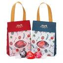 リンツ Lindt チョコレート バレンタイン リンドール ハートギフトバッグ 6個|限定 チョコ リンドール バレンタインチョコ ギフト 詰め合わせ おしゃれ かわいい バレンタインデー 会社 職場 アソート スイーツ 個包装 小分け お菓子