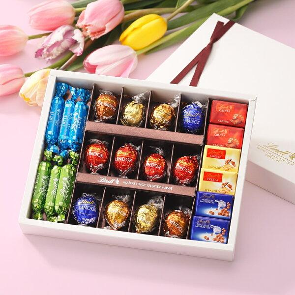 リンツLindtチョコレート母の日ギフトピック&ミックスコレクション|母の日ギフト洋菓子ギフトかわいいおしゃれお菓子スイーツプチ