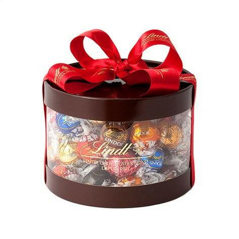 リンツLindtチョコレートリンドール8種類50個入りギフトボックス|母の日ギフト洋菓子ギフトかわいいおしゃれお菓子スイーツプチ