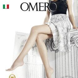 OMERO【オメロ】AESTIVA8denSUMMERLINECollectionオールシーズンライクラソフトコンフォートファイバーベーシックシアーストッキング