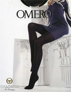 OMERO【オメロ】Iride100ライクラ3Dファイバーマイクロファイバーつま先フラット補強付きベーシックタイツ