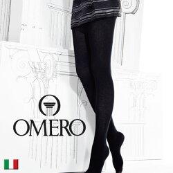 OMERO【オメロ】THERMO300denESSENTIALLINECollection極厚裏起毛マットフラットシームフリース・厚手タイツ